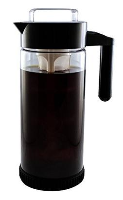 3 in 1 Cold Brew Iced Coffee Maker with Non-Slip Base   Iced