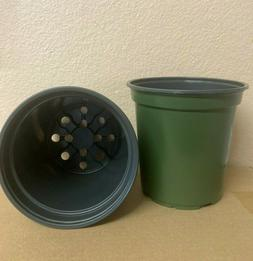 "1 GALLON  6 "" X  6 "" TRADE PLASTIC NURSERY POTS  100 / 250 /"