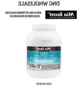 1 gallon 80 oz clear acrylic powder