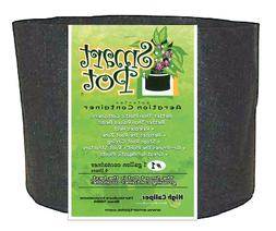 Smart Pots 1 Gallon - Black -Plant Growing Cloth Container 1
