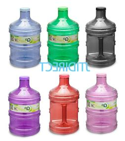 1 Gallon BPA Free Plastic Drinking Water Bottle Container Ca