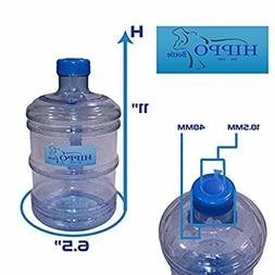 1 Gallon BPA Free Plastic Water Bottle Jug Container Drinkin