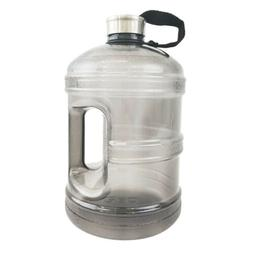 1 Gallon BPA FREE Reusable Plastic Drinking Wide Mouth Water