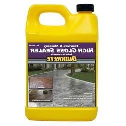 Quikrete 1 Gallon High Gloss Concrete Sealer Water Based Sil