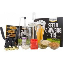 1 gallon homebrew starter kit includes american