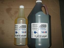 1 GALLON OF MOBIL VACTRA WAY OIL #2 & 1 QUART OF VELOCITE SP
