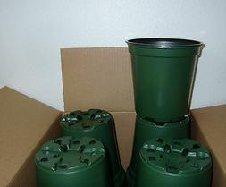 1 GALLON PLASTIC NURSERY PLANT POT 6 in * LOT OF 100 *