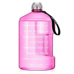 BuildLife 1 Gallon Water Bottle Motivational Fitness Workout