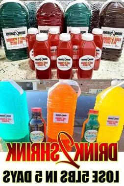 Drink2Shrink 11 Flavors 1 Pack Makes 1 Gallon Lose Up To 5 l
