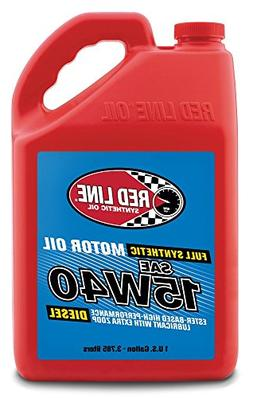 Red Line 21405 15W-40 Diesel Motor Oil - 1 Gallon Jug,