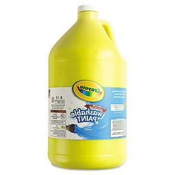 Crayola. 542128034 Washable Paint Yellow 1 gal