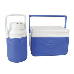 Coleman 6 Can Fliplid Cooler and 1/3 Gallon Beverage Jug Com