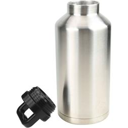 64oz Stainless 1/2 Gallon Growler Rambler Vacuum Insulated T