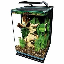 Aqueon LED MiniBow Aquarium Starter Kits with LED Lighting,