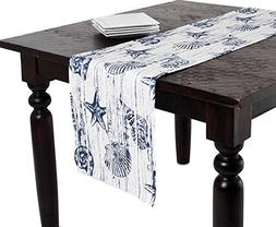 "Captiva Island Nautical Table Runner, 14""x72"" Rectangular, 1"