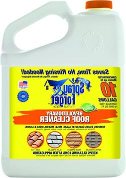 Spray & Forget Revolutionary Roof Cleaner Concentrate, 1 Gal