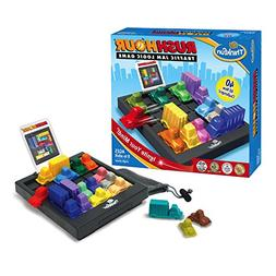 Think Fun Rush Hour Traffic Jam Logic Game and STEM Toy for