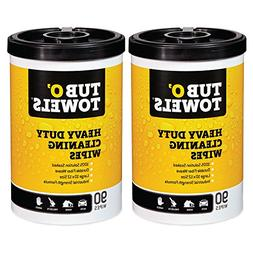 Tub O Towels Heavy-Duty Multi-Surface Cleaning Wipes, Citrus