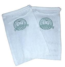 Two One-Gallon Cold Brew Coffee Filter Pouches  and 3 Free R