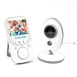 Baby Monitor, Cambond Wireless Video Audio Baby Monitor with