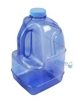 Blue 1 Gallon Plastic Water Bottle BPA Free Jug Container Ca