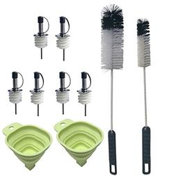 bottle cleaning brushes long handle