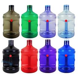 BPA Free 1 Gallon Plastic Water Bottle Drinking Canteen Jug