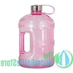 1 Gallon BPA Free Reusable Plastic Drinking Water Bottle w/S