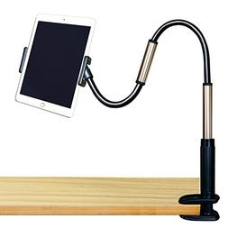 GEEPIN Clamp Mount Tablet Stand for iPad and iPhone, 3.3 Ft
