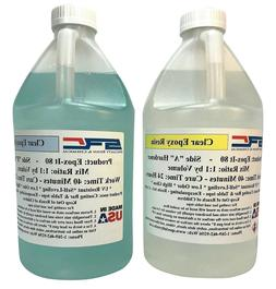 Clear Epoxy Resin for Bar Tops, Encapsulating, or Casting