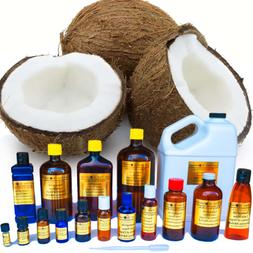 Coconut Oil - 100% Pure - Multiple Sizes from 3ml to 1 Gallo