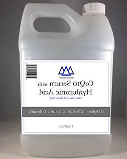 All Natural CoQ10 Serum with Hyaluronic Acid 1 Gallon Pure U