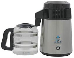 Megahome Countertop Water Distiller Stainless, Glass Collect