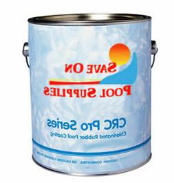 CRC Chlorinated Rubber Based Swimming Pool Paint WHITE 1 Gal