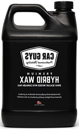 CarGuys Hybrid Wax Sealant - Top Coat Polish and Sealer - In