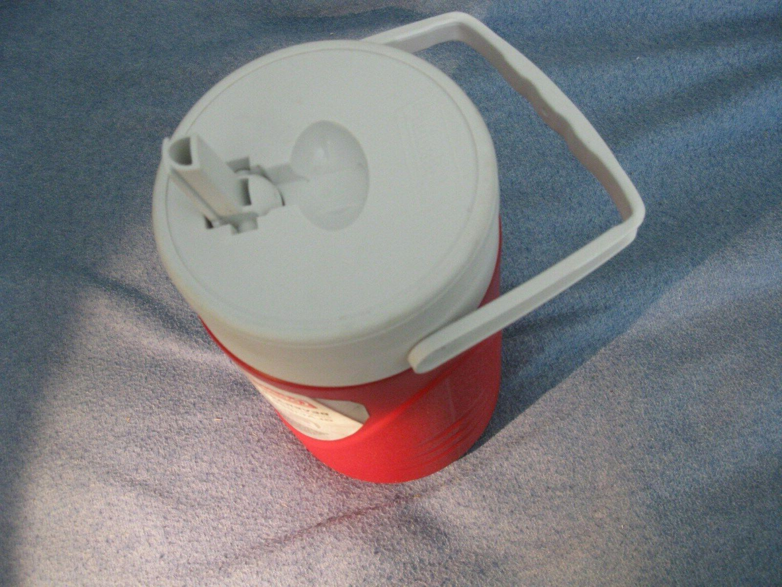 Coleman 1/2 Gallon Cooler - never used-Handle & spout-free-S.