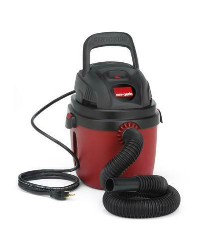 1.5 Gallon 2.0 Peak HP Wet Dry Vacuum 50 CFM Portable Lightw