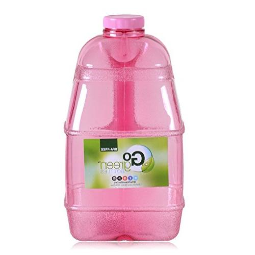 1 Gallon Reusable Water Big Mouth Bottle Jug Container with