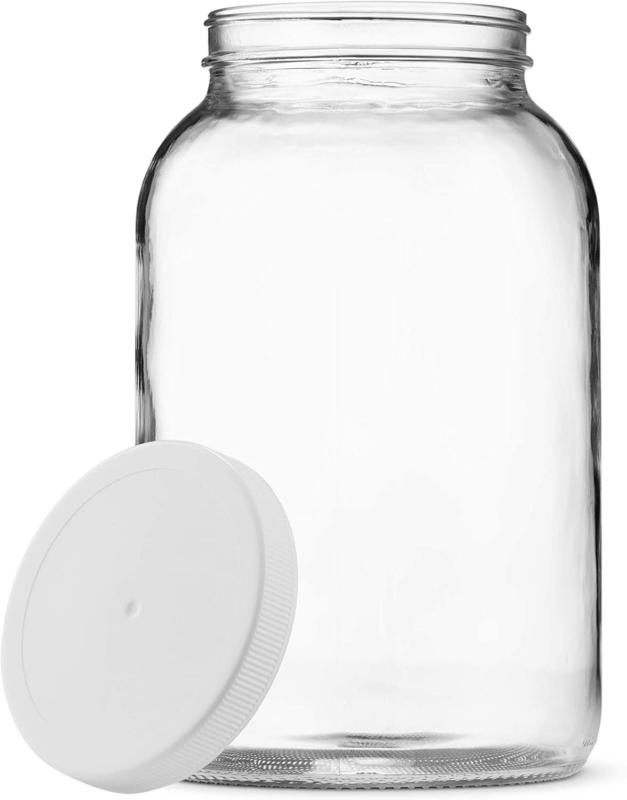 1 gallon 1 pack wide mouth glass