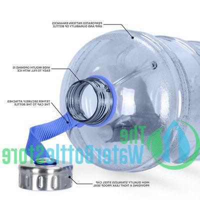 1 Reusable Water Stainless Blue