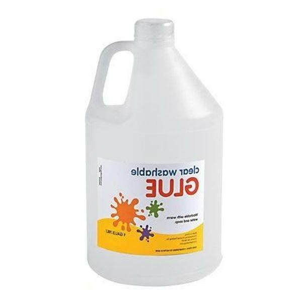 1 gallon clear school glue slime glue