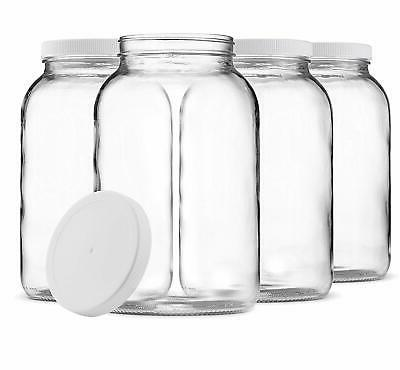 1 gallon glass jar wide mouth