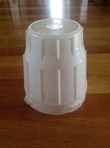1-Gallon Plastic Poultry Chick Complete Waterer Lock Easy Open