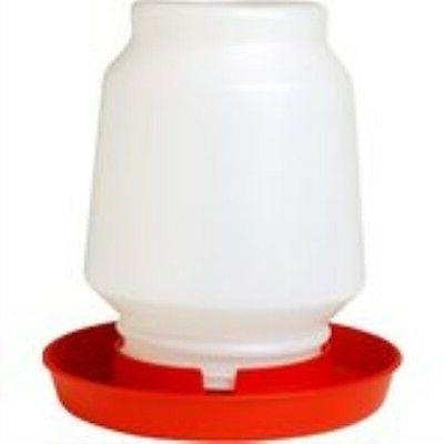 1 gallon plastic poultry chicken chick complete