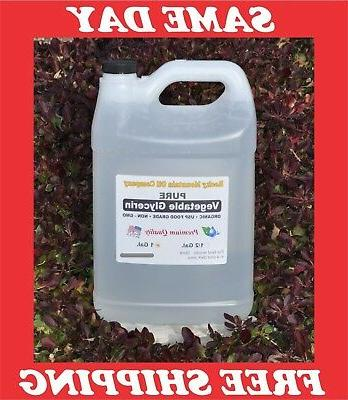 1 gallon pure organic vegetable glycerin non