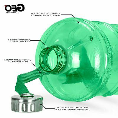 1 Reusable Bottle Jug Leak-Proof Green