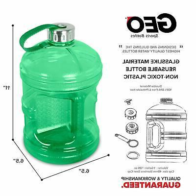 1 Bottle Jug Leak-Proof Green