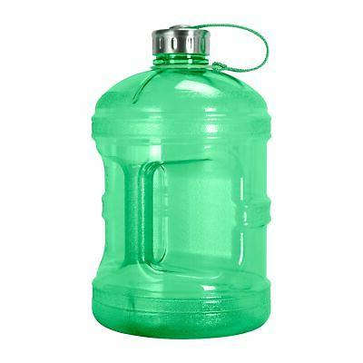 1 gallon reusable water bottle jug bpa