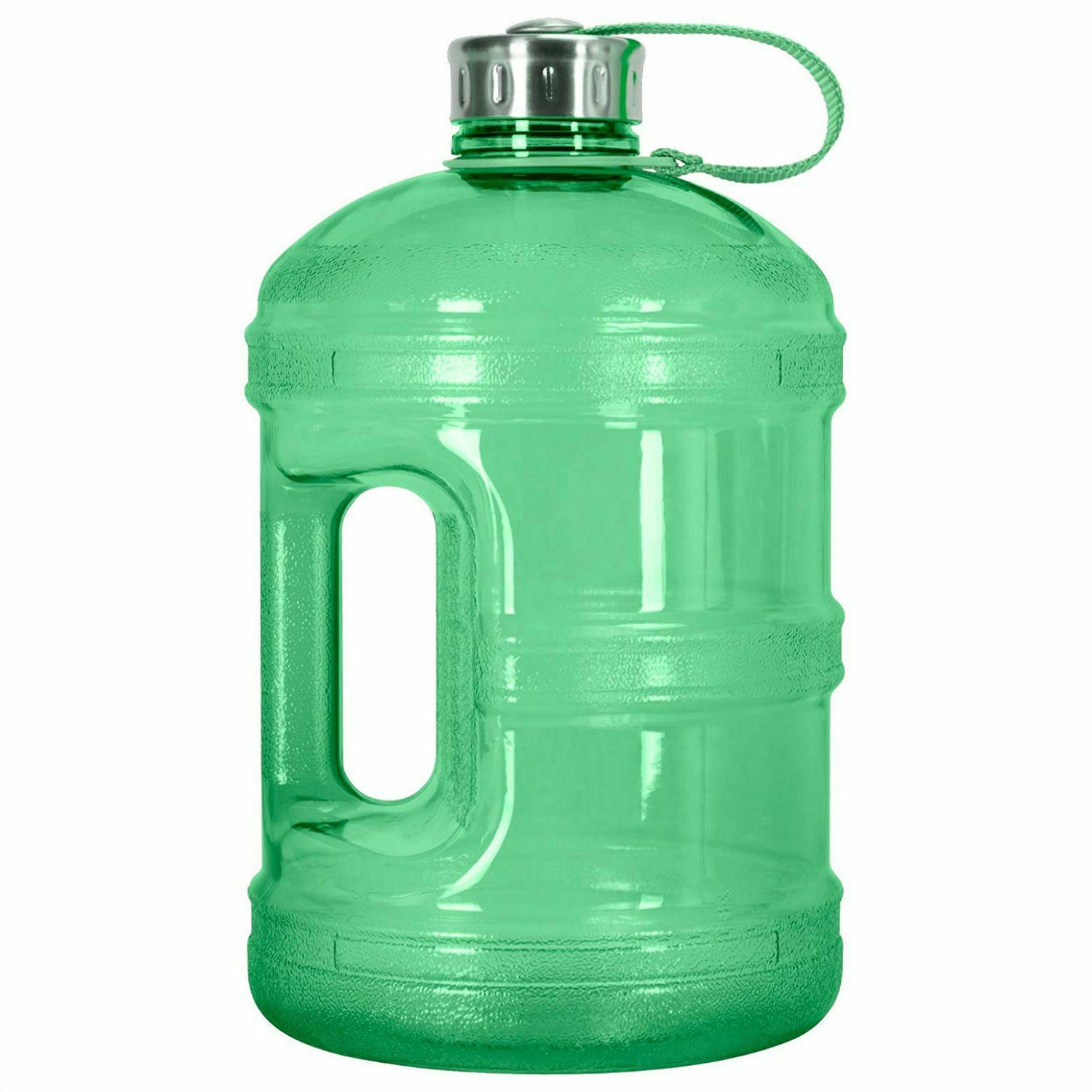1-Gallon Reusable Water Bottle Jug BPA Stainless Steel Leak-Proof