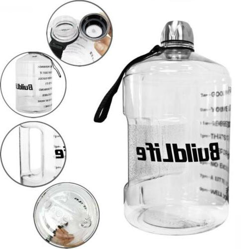 QuiFit Gallon Bottle Jug for Outdoor...
